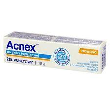 ACNEX an unholy Skin Acne against pimples punktgel 15 G