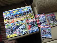 Tourenfahrer 5 Ausgaben Motorrad 3x und 1 x Motorrad Reisen