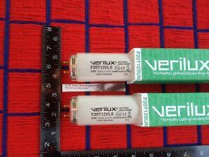 "2 new USA 24"" Verilux F20T12 /SUN fluorescent FULL SPECTRUM GROW light bulb 20w"
