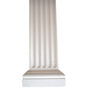 WC02 Square Wall Column in Fibrous Plaster - COLLECTION ONLY