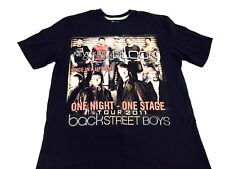 New Kids on the Block Shirt Back Street Boys shirt Concert shirt Boy Band 2011 L