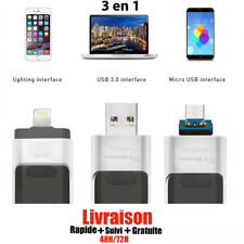 Clé USB iPhone OTG i-Flash 64Go Stockage Memory Pour iPhone 6/7/8/x