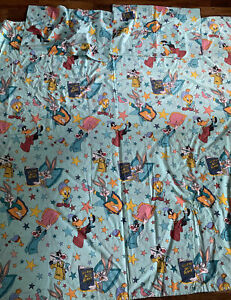 Warner Bros Looney Tunes Double Duvet Cover Bugs Daffy Vintage Craft Material