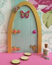 Fairy accessories, fairy door dust, key, stepping stones can be personalised