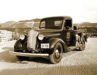 """1937 US Forest Service Fire Pumper Unit, CA Vintage Old Photo 8.5"""" x 11"""" Reprint"""