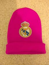 Real Madrid Knitted Crest Beanie Hat ladies / girls