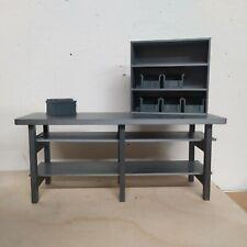 Werkbank+Regal 1:18 1:16 Diorama Werkstatt Modellbau