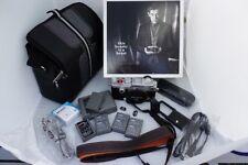 Olympus PEN F Kamera - silber inkl. Zubehörpaket (Akkus,Tasche usw.)