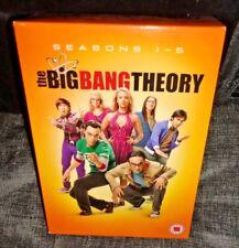 The Big Bang Theory Season's 1-5 (DVD Box Set, 16-Discs)