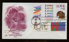 SPECIAL SALE US First Day COMBO Cover (Love Stamp) 1986 NY, NY