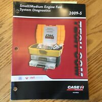 Case International IH TECH-COM SMALL/MEDIUM FUEL SYSTEM DIAGNOSTICS GUIDE MANUAL