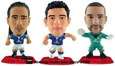 2010 MICRO WORLD SOCCER STARS FIGURINE EVERTON TEAM SET (3)-RED BASE