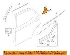 HYUNDAI OEM 13-15 Santa Fe Exterior-Rear-Applique Window Trim Right 832802W000