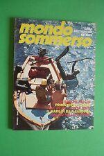 Magazine MONDO SOMMERSO N. 224 DEL 1979 Rivista internazionale del mare