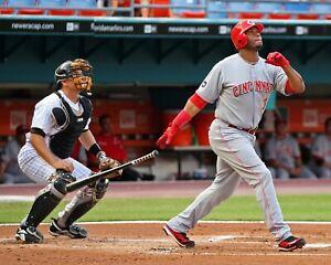 KEN GRIFFEY JR 8X10 PHOTO CINCINNATI REDS BASEBALL PICTURE MLB AT BAT