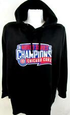Chicago Cubs Mens 3XL Screened 2016 Champions Pullover Hooded Sweatshirt CGC 34
