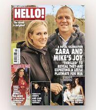 HELLO! Magazine #1460 - ZARA & MIKE'S JOY! CHERYL & LIAM! (NEW)