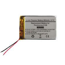 3.7V/800mAH Replacement Battery for Plantronics K100, Plantronics PR-423350