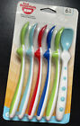 NUK First Essentials Rest Easy Spoons Assorted, 6-Pack For 6+ Months