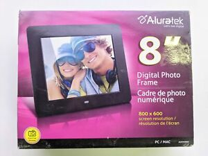 """Aluratek 8"""" Digital Photo Frame with Automatic Slideshow - ADPF08SF"""