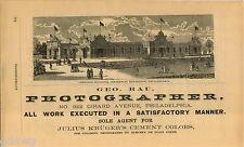 1876 ADVERT Carriage Building Centennial Exposition Philadelphia Fat Contributor