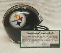 Jack Ham Autographed Pittsburgh Steelers Mini Helmet.  GTSM