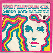 """7"""" - 1910 FRUITGUM CO -   SIMON SAYS / REFLECTIONS FROM THE LOOKING GLASS"""