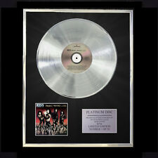 KISS SMASHES THRASHES & HITS  CD PLATINUM DISC VINYL LP FREE SHIPPING TO U.K.