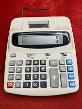 Sharp El-1801V 12-Digit 2-Color Printing Electronic Adding Machine Calculator