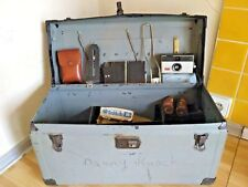 Vintage box of a professional photographer. USA