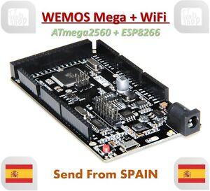 WeMOS Mega + WiFi R3 ATmega2560 + ESP8266 USB-TTL for Arduino Mega NodeMCU