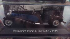 DIE CAST " BUGATTI TYPE 41 ROYALE - 1929 " AUTO FRANCESI SCALA 1/43