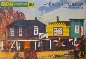 BCH 168-8502 The 'Sheriff Group' Building kits Plastic