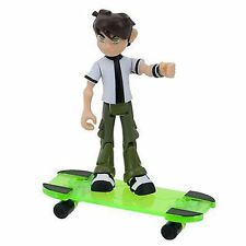 "New BANDAI BEN 10 Omniverse Ben 11 YR 4"" Action Figure #32348 w/ Skateboard"