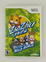 Zhu Zhu Pets: Featuring the Wild Bunch - Nintendo Wii Game - Complete