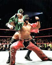 Shawn Michaels HHH Wrestling 8x10 Photo Lucha Libre Mexico Wrestler WWE Mask 1