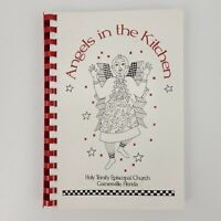 1997 Angels in the Kitchen Holy Trinity Episcopal Church Cookbook Gainesville FL