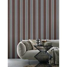P&S International Non Woven Decorative Vertical Stripe Faux Fabric Wallpaper