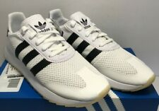 Adidas Womens Size 10 Originals FLB Flashback Running White Black Shoes BA7760