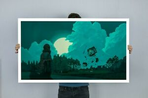 Road to Knowhere Bezt  Etam Cru James Jean Jaw Cooper Art Print
