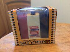 Vintage Bicentennial Salt & Pepper Shakers Never Been Opened!