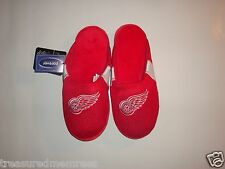 NHL Detroit Red Wings Team Jersey Indoor/Outdoor Slippers ~ Size Medium (9-10)