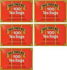 Swee-Touch-Nee Tea, Orange Pekoe and Pekoe Cut Black Tea, 100-Count Tea Bags