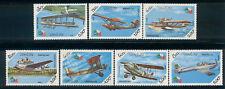 Laos 1985 - MNH set of 7 depicting aircraft 4.45 cv 657-63 lot 10