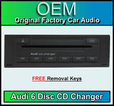 Audi A6 6 CD Glovebox changer, Audi RNS-E Satellite Navigation + Removal Keys