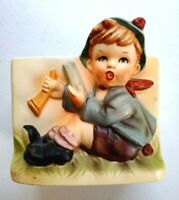 Vintage RELPO 2024 Little Boy with Hat & Horn COLLECTIBLE 5x5x3 Made in JAPAN