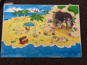 Play Days Original artwork - Toy box June 2002.