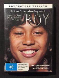 BOY (2010) DVD - REGION 4 - TAIKA WAITITI - COLLECTOR'S EDITION - RARE - NZ