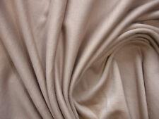 1 Lfm Jersey 3,80€/m²   Schlauchstoff beige Baumwolle, Elasthan PC71