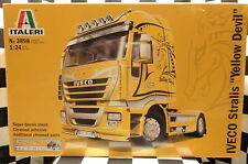 "Italeri 3898 Iveco Stralis ""Yellow Devil"" Truck  1:24 Plastic Model Kit 553898"